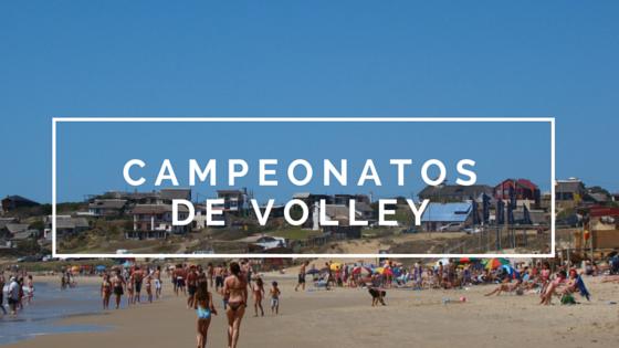 Campeonatos de Volley en Rocha!